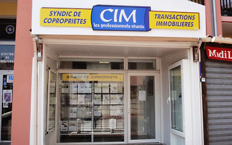 Agence Languedoc Immobilier - Cap d'Agde- Facade
