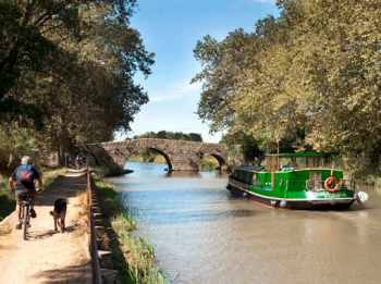 The Canal du Midi: a waterway listed as a UNESCO World Heritage site.