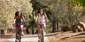 Take a bike on the gentle routes