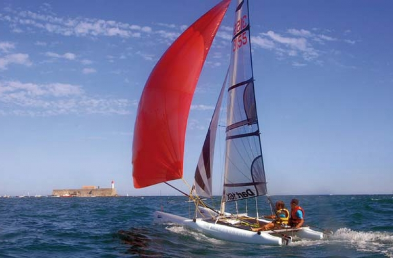 The Cap d'Agde, a paradise for nautical enthusiasts