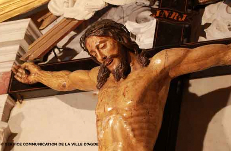 The Saint-Christ - a mysterious crucifix born from the chisel of a great sculptor.